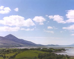 Croagh Patrick and Clew Bay